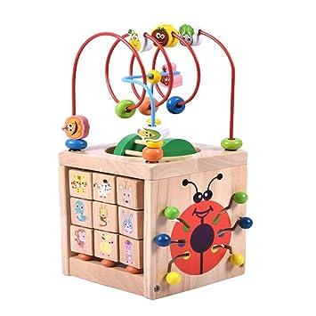 Povkeever Juguete Multifuncional Cubo Para Ninos Juegos Educativos