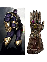 Novelty Latex Thanos Infinity Gloves of The Avengers Costume Halloween Christmas Party Club for Children Adults by Bellagione