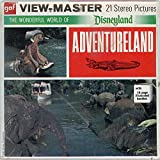 ViewMaster ADVENTURELAND DISNEYLAND CALIFORNIA ViewMaster Reels 3D - from the 1970s - factory sealed