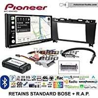 Volunteer Audio Pioneer AVIC-W8400NEX Double Din Radio Install Kit with Navigation, Apple CarPlay and Android Auto Fits 2005-2009 Buick Lacrosse