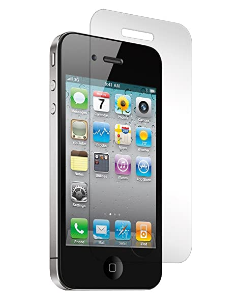 Cellphonez reg; Set of 2 Tempered Glass Screen Protector for Apple iPhone 4S. Screen guards