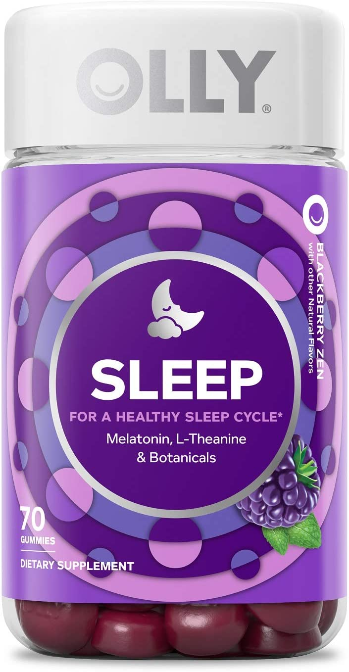 Amazon Com Olly Sleep Melatonin Gummy All Natural Flavor And