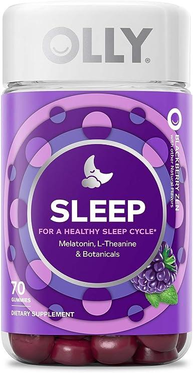 Amazon Com Olly Sleep Melatonin Gummy All Natural Flavor And