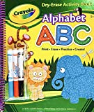 Crayola Dry-Erase Activity Book Alphabet PRINT ERASE PRACTICE CREATE