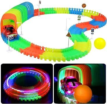 circuit voiture enfant fluorescent
