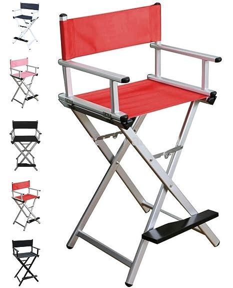 Polironeshop Deva sillón de Aluminio Plegable para Maquillaje