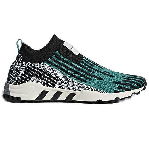 Zapatillas adidas - EQT Support SK PK Negro/Verde/Blanco Talla: 38: Amazon.es: Zapatos y complementos