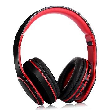 Deep Bass - Auriculares inalámbricos Bluetooth con micrófono ...
