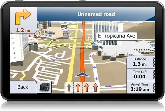 Navigation Für Auto 7 Zoll 8 Gb Lkw Navigationsgeräte Mit Kapazitivem Touchscreen Vorinstallierte Europa 58 Späteste Karten Für Europa Mit Lebenslangen Kostenlosen Kartenupdates Navigation