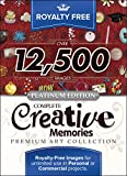 Royalty Free Complete Creative Memories Premium Art Collection - Platinum Edition: Top-Quality ClipArt To Make Your Scrapbook Designs, Invitations and Other Projects SPECIAL!! (for PC) [Download]