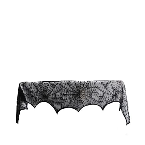 winomo halloween kamin spinnennetz tuch abdeckung dekoration - Kaminumhang Dekorationen