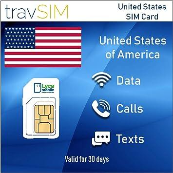 travSIM - Tarjeta SIM de prepago Lycamobile para EE.UU ...