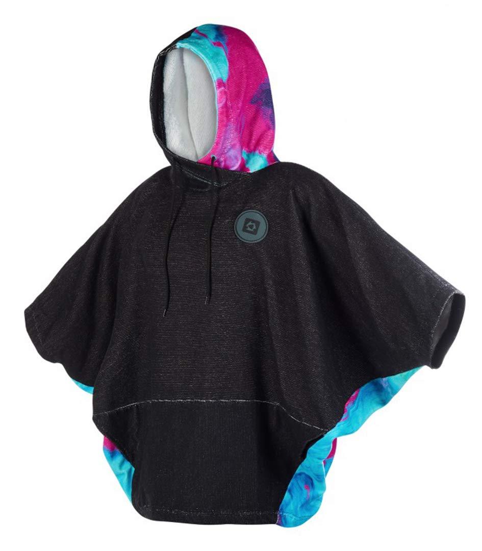 Mystic Wetsuit Poncho Wmn Aurora Mix Color ONE SIZ