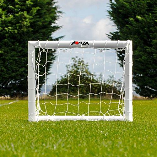 Net World Sports FORZA Kids Goal - The perfect 1st football goal! [75% Limited Time SALE!] (FORZA Mini Goal + Football)