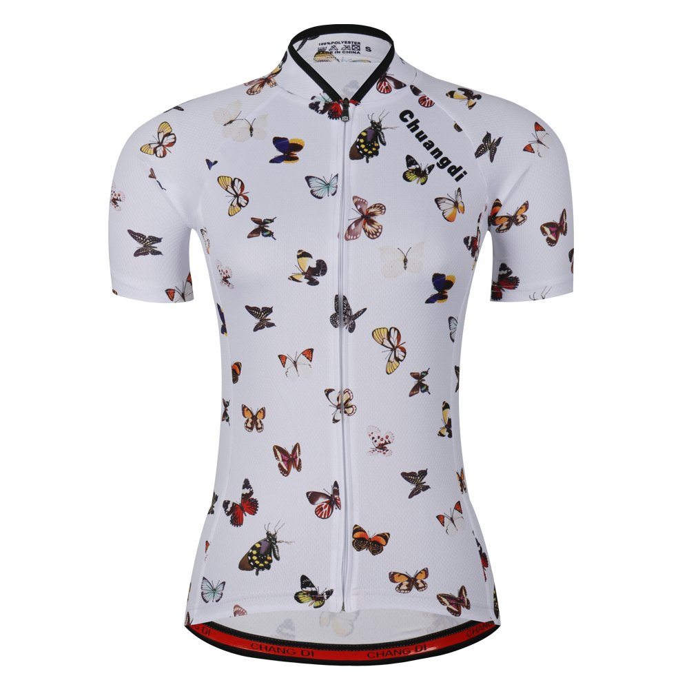 Women's Cycling Jersey Beautiful Bike Bicycle Clothing Shirt Jacket Summer (Asia-S, 8) by ZM