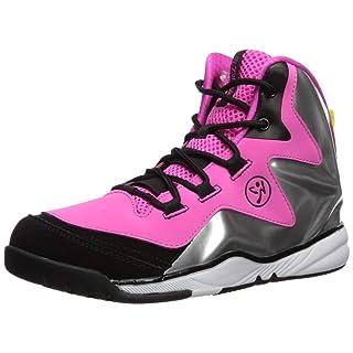 Zumba Women's Energy Boom High Top Dance Workout Sneakers Enhanced Comfort Support