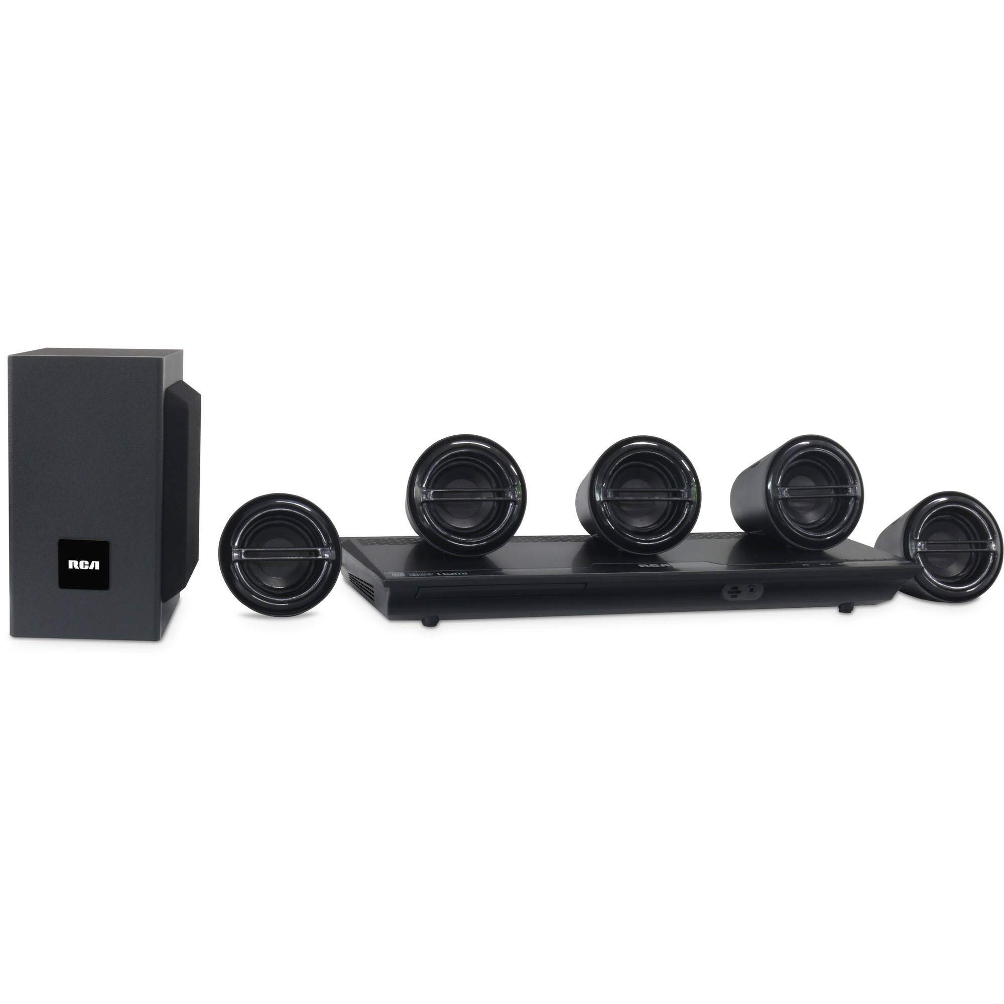 Rca DVD Home Theater System Hdmi 1080p Output 300 W 5.1 Rtd3277h