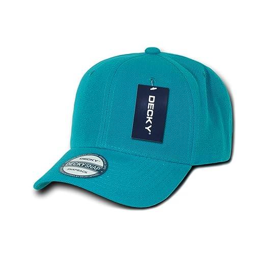 Amazon.com  DECKY Inc Curve Bill Acrylic SnapBack Baseball Caps 1015 ... ed8afcb7fe2