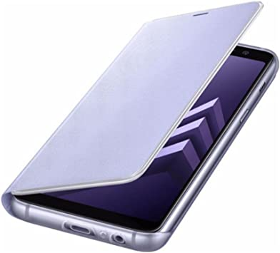 Samsung Original Etui Folio Néon pour Galaxy A8 2018 - Lavande