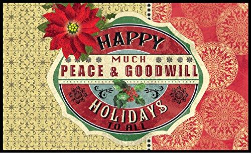 Lang Peace and Goodwill Door Mats by Lori Siebert, 18 x 30 (3210011)