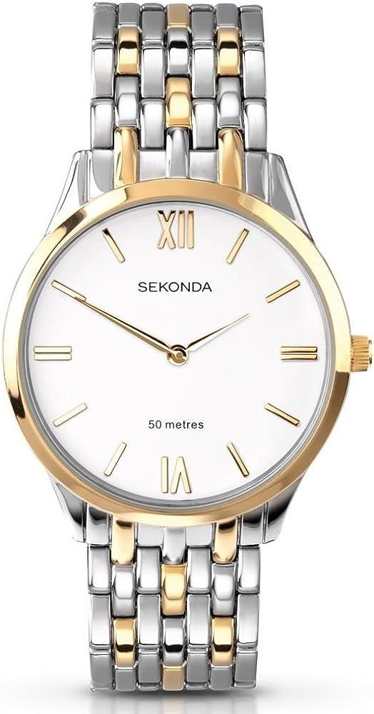 Sekonda 3449 3359 - Reloj para Hombres Color Dorado