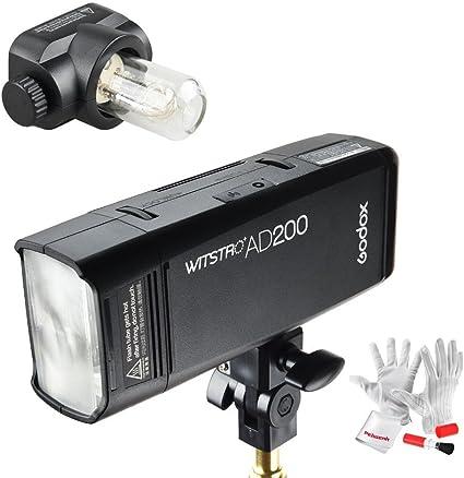 Godox Ad200 Doppelkopf Tasche Blitzlicht 200ws Ttl Hss Kamera
