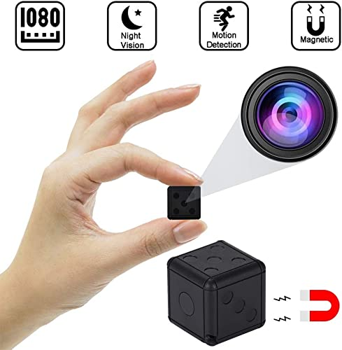 WEMLB Mini Hidden Camera – Dice Spy Cam – Home and Office Discreet Surveillance – Non-WiFi, 1080P HD Recording, Motion Detection – 32GB SD Card Included