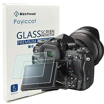 Amazon.com: (2-Pack) Pentax K-1/Nikon d5600 Protector de ...