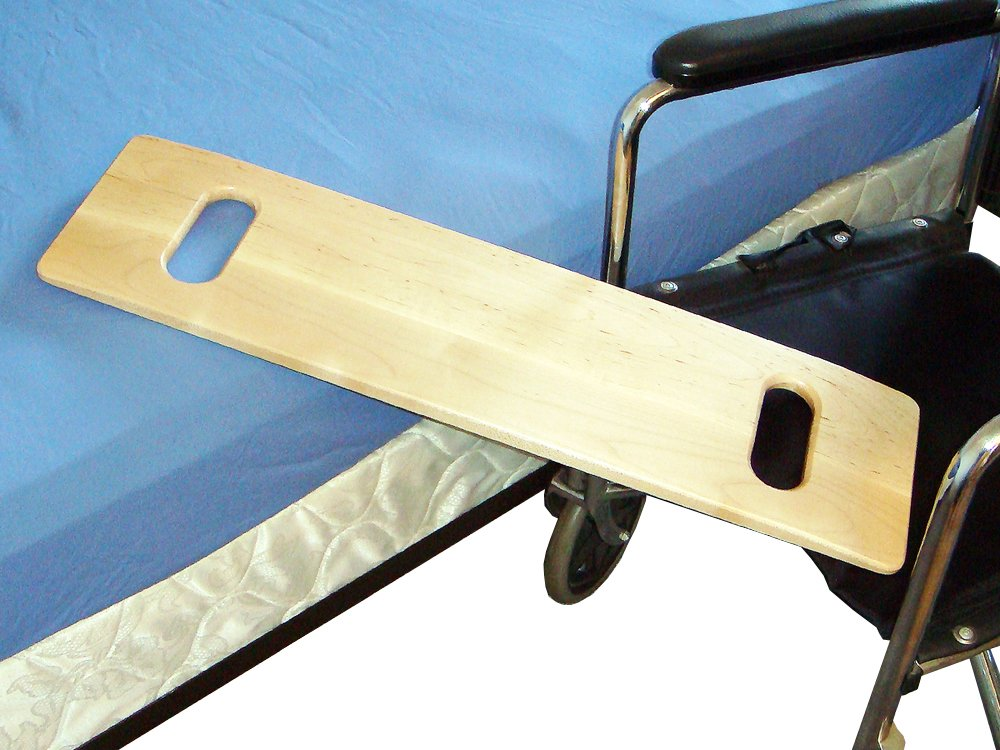 MTS Medical Supply SafetySure Slotted Maple Transfer Board, 24 Inch