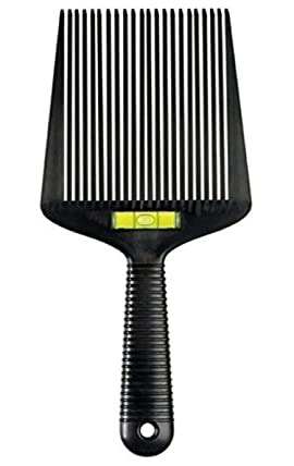 Barber Hair Comb Wide Flat-Top Comb (Flatopper) Accurate Water Levelling System