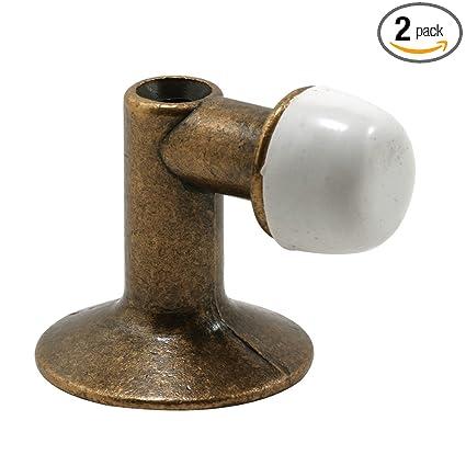 Exceptionnel Prime Line Products U 9024 90 Degree Floor Mount Door Stop, Antique Brass