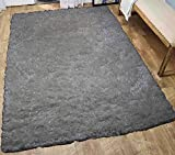 LA Rug Linens Glitter Shag Shaggy Furry Fluffy Fuzzy Sparkle Soft Modern Contemporary Thick Plush Soft Pile Off White Two Tone Area Rug Carpet Bedroom Living Room 5×7 Sale Discount Treasure Off White For Sale