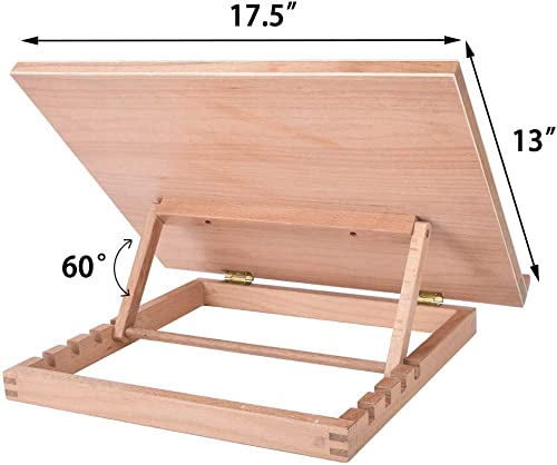 Vencer Large Adjustable Wood Artist Drawing and Sketching Board VDB-001
