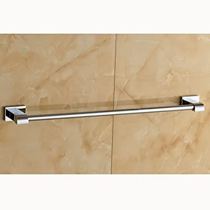 ZHAS Toallas Unión Simple Toallero Cobre Cobre Palanca única Toalla de baño Toalla Barra Colgando (