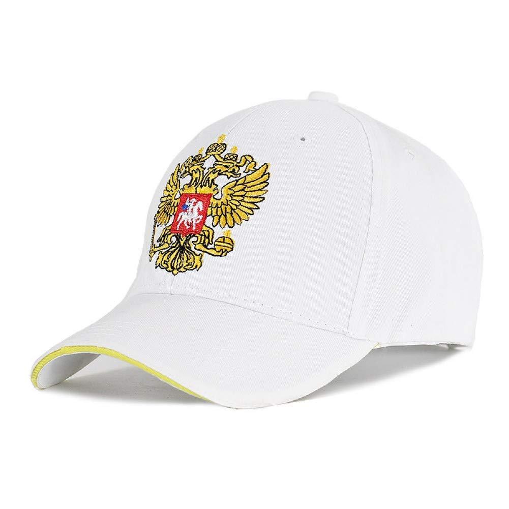 White Outdoor Sports hat Baseball Cap Good Embroidery Unisex 100% Cotton Baseball Cap Emblem Embroidery Snapback Fashion Hats for Men & Women Patriot Caps GrljdHat