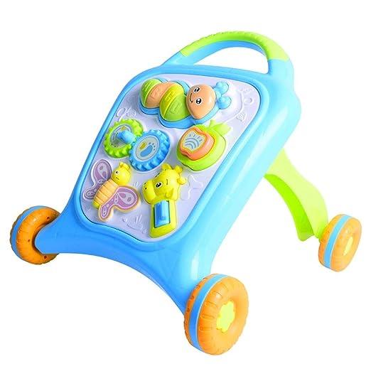 Andador Baby Walker Trolley Juguete multifunción antivuelco 6-18 ...