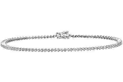 bracelet or blanc femme