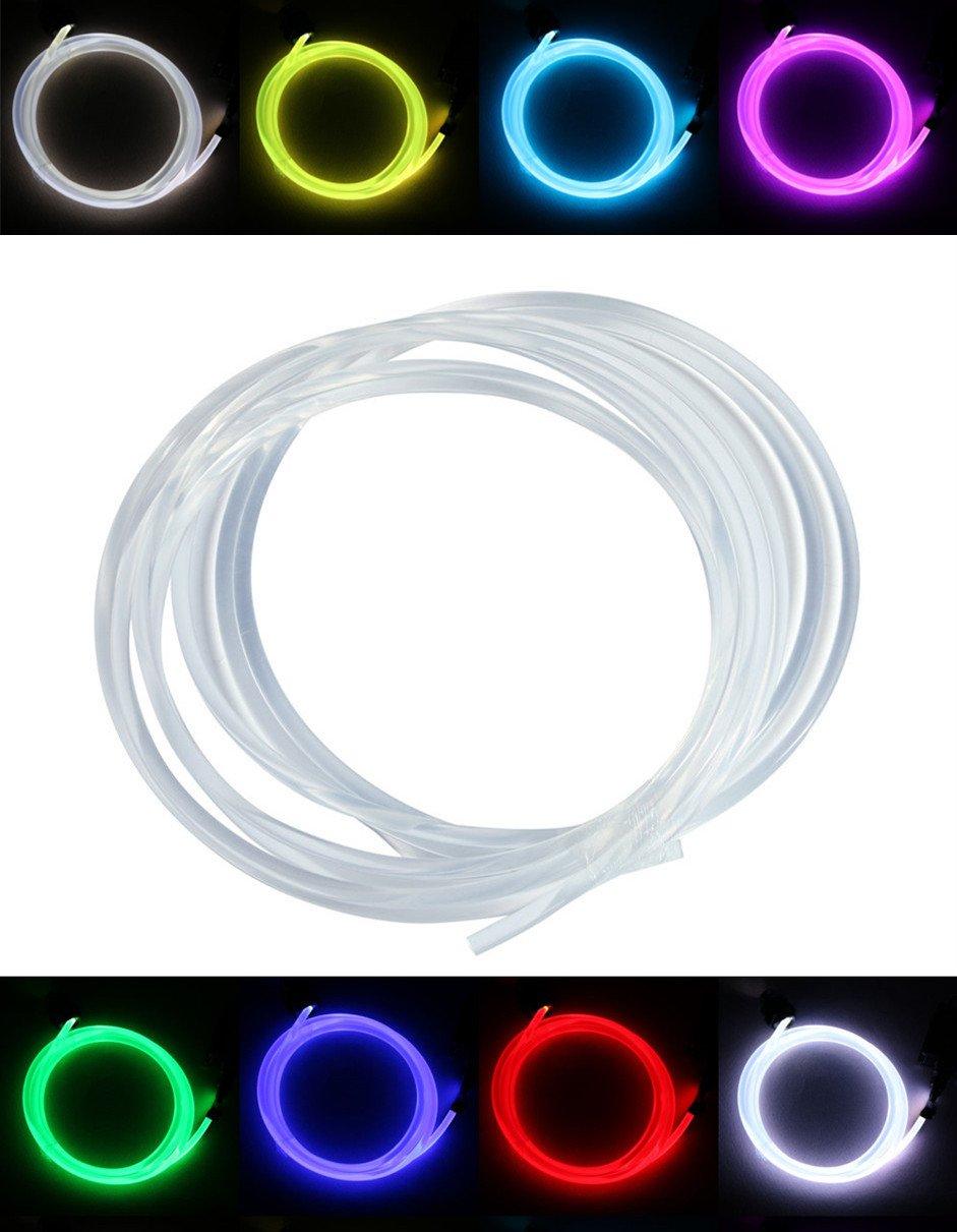 PMMA Optic Fiber Light Cable Side Glow Diameter for Fiber Optical Lighting Decoration 5M (0.08in) Shine Electronics 4330086936