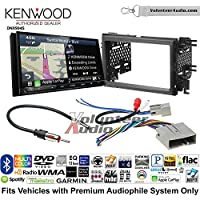 Volunteer Audio Kenwood Excelon DNX994S Double Din Radio Install Kit with GPS Navigation Apple CarPlay Android Auto Fits 2007-2010 Edge (Without factory amplified sound)