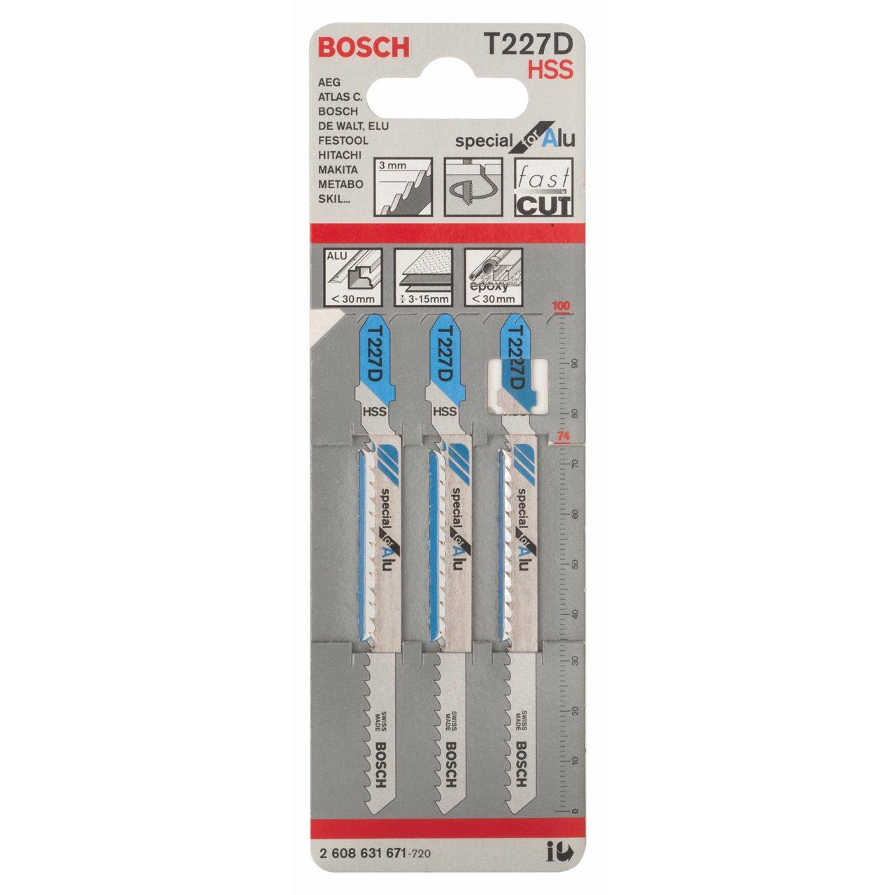 Bosch 2 608 631 671 lama per sega a gattuccio sega a traforo e sega universale