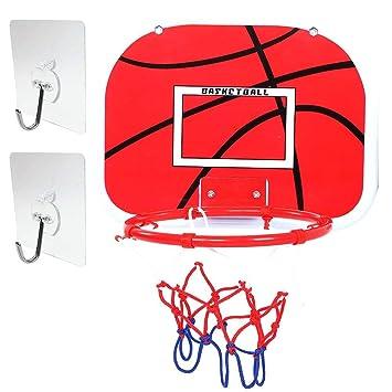 Amazon.com: VGEBY Mini aro de baloncesto, interior ajustable ...