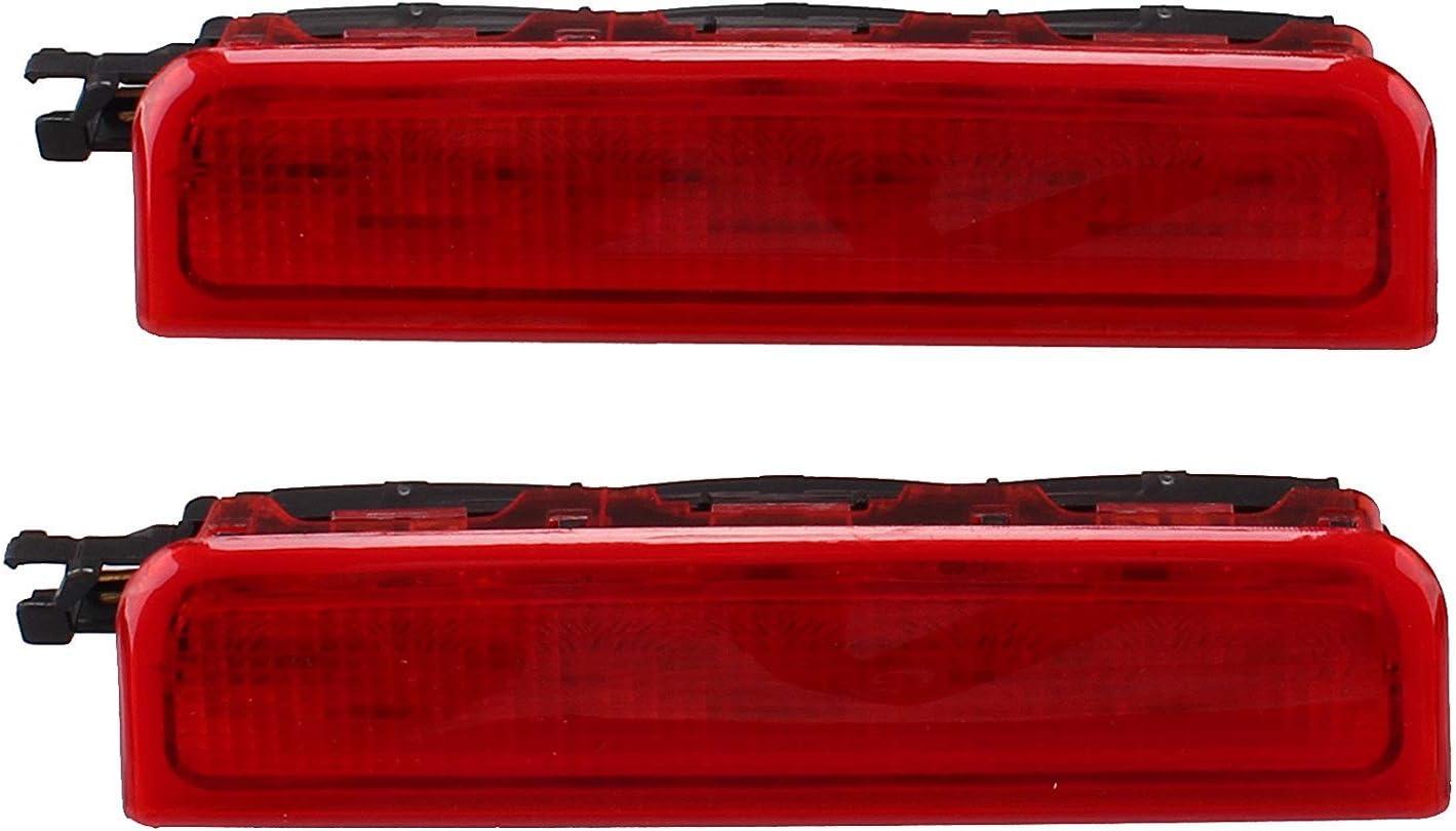 Tercer tercera parada de freno trasero de centro de luz para VW Caddy III 2003 – 2014 Kasten 2 K0 945 087 C: Amazon.es: Coche y moto