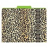 Leopard Animal Print FUNctional File Folders - 12/pkg