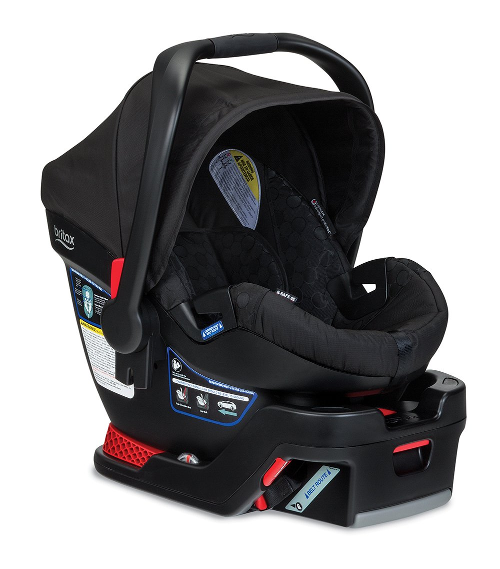 Britax B Safe 35 Infant Seat, Black