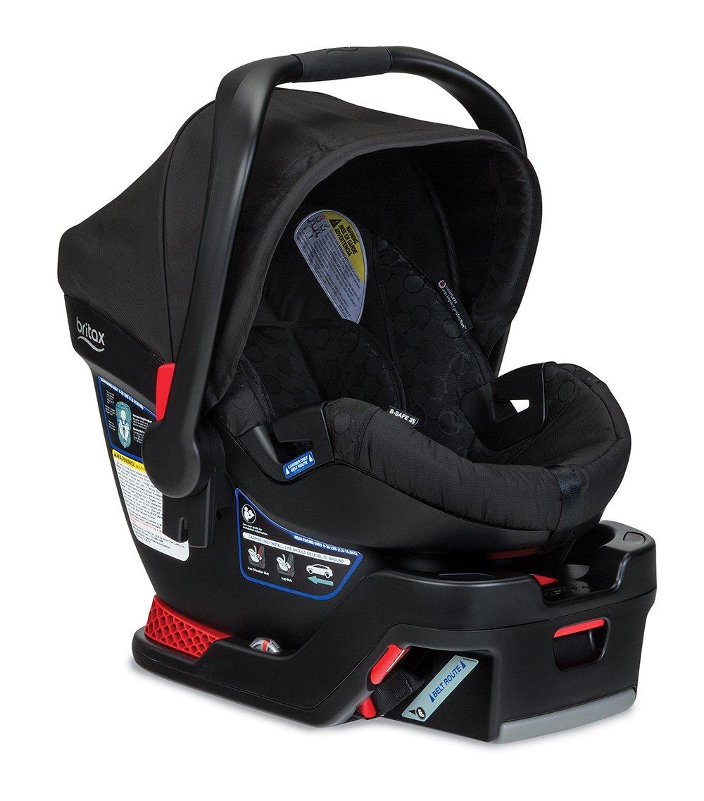 Britax B Safe 35 Infant Seat, Black
