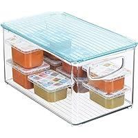 mDesign Caja para juguetes con tapa para habitación