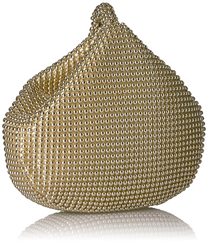 Bag Gold McClintock Mesh Pouch Wristlet Evening Light Jessica Staci Womens Pqwwa6