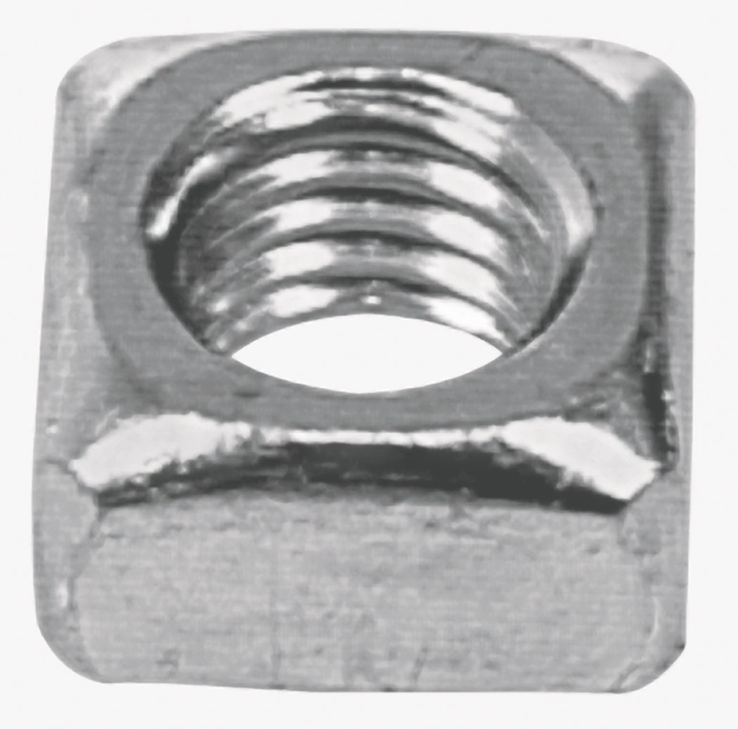The Hillman Group 3336 1/4-20 Square Nut Zinc Plated (2 Packs of 40)
