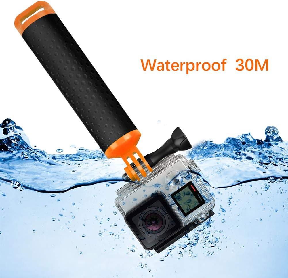 Amyove Float Hand Grip Buoyancy Rod Pole Stick Monopod Tripod for Gopro Go Pro Hero