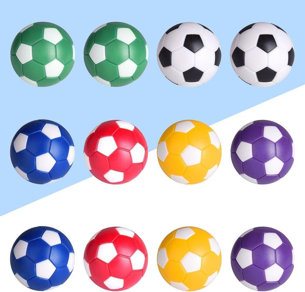 Yeahibaby 12 unids Table Soccer Foosballs Reemplazo Bolas Mini ...